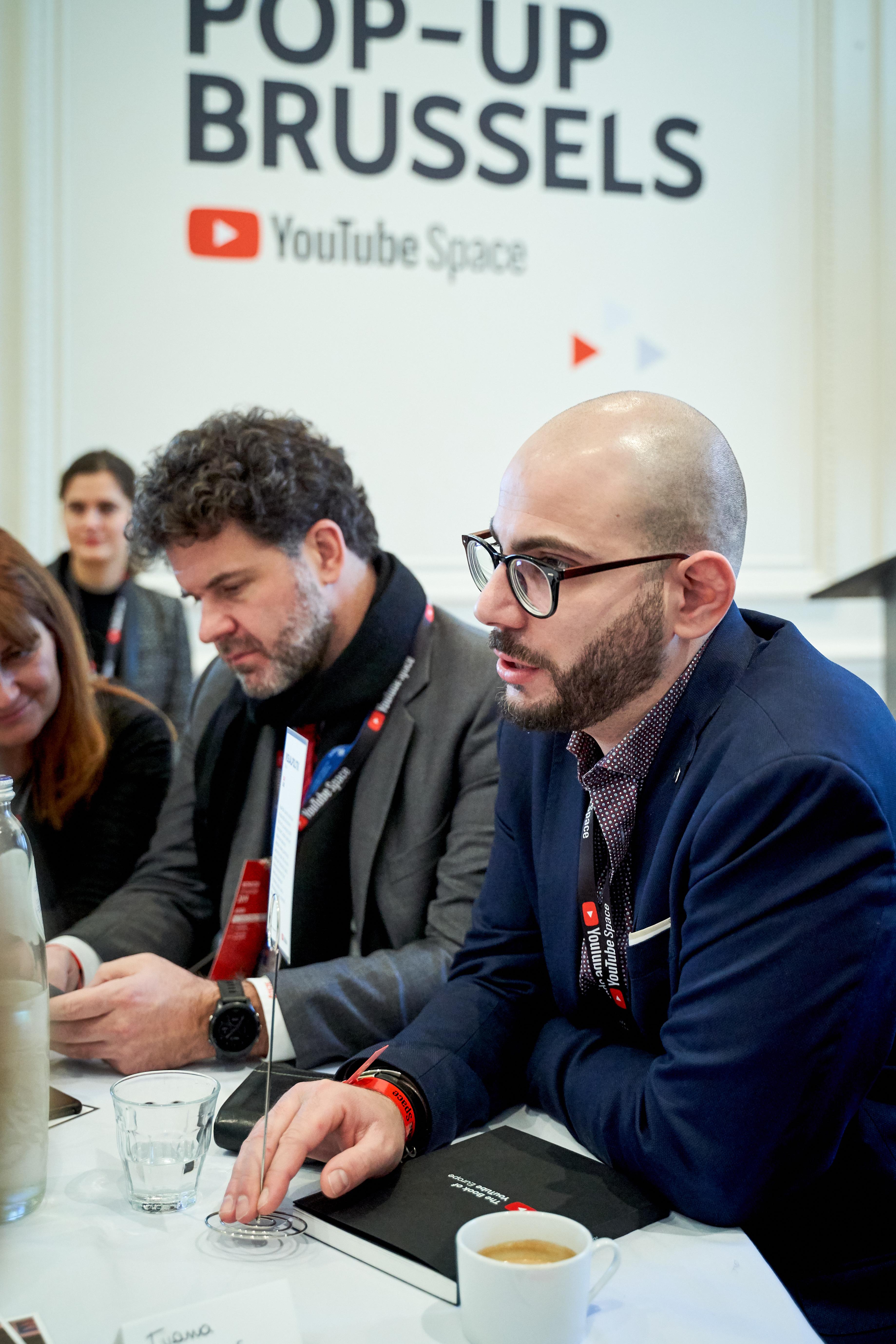 Fonseca, VisualPolitik - YouTube Pop-Up Space